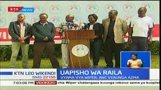 Kinara wa muungano wa NASA Raila Odinga asema mipango ya kuapishwa yaendelea vyema