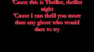 Michael Jackson Thriller Letra