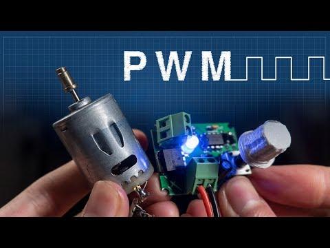 PWM Explicado | Cómo hacer un controlador de velocidad de motores DC
