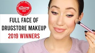 Full Face Using Allure Drugstore Winners