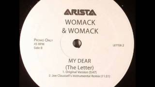My Dear (The Letter) - Womack & Womack  (Joe Claussell's Main Mix)