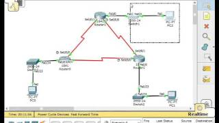Cisco packet tracer #7 - Static Routing (3 Router 3 DCE wire)