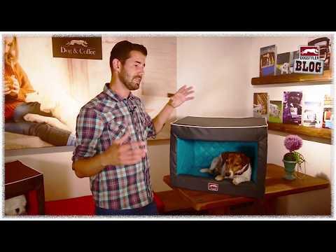 Kuschelige Hundehöhle DOG Rooflounge// DOGSTYLER® Produktblog #0021