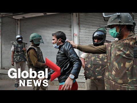 कोरोनावायरस का प्रकोप: भारतीय पुलिस ने लॉकडाउन लागू होते ही नागरिकता विरोध को तोड़ दिया