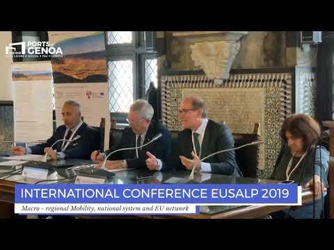 PORTS OF GENOA A EUSALP 2019. SIGNORINI: «FONDAMENTALI NUOVE TECNOLOGIE»