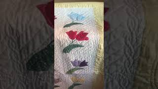 How Did I Quilt That: My Beloved Tulip Quilt