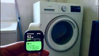 Siemens iQ500 Waschmaschine - Lautstärke Messung/ Schleudern, Abpumpen