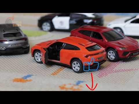 Металлическая машинка Kinsmart 1:38 «Lamborghini Urus» KT5368D,  инерционная / Микс