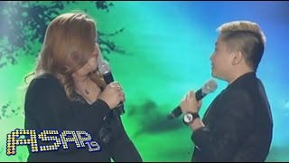 Charice sings with mom on ASAP19