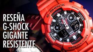 Reseña Casio G-Shock GA-100B Reloj Analógico Y Digital En Español