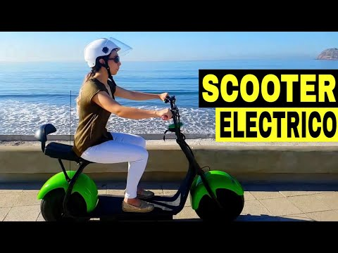 Scooter Electrico iMobility Chopp - ¡Transporte Eléctrico Alternativo!