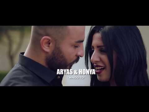 Aryas  & honya  - Mno to  ( EXCLUSIVE MUSIC VIDEO)  2018