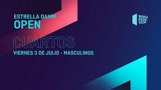 Cuartos de final Masculinos - Estrella Damm Open 2020 - World Padel Tour