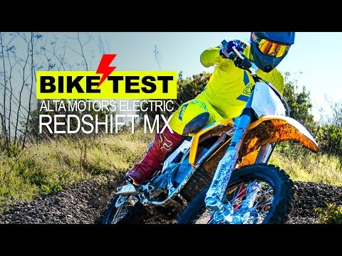 BIKE TEST: ELECTRIC MOTOCROSS BIKE – Alta Redshift MX