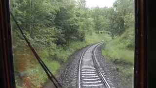 preview picture of video 'Slavnostní obnovení úseku železniční trati 144 Krásný Jez- Horní Slavkov Kounice 28.6.2013'