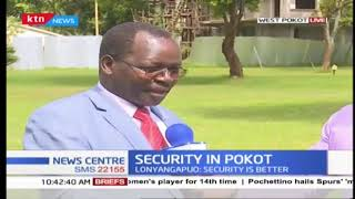 West Pokot Governor is unhappy with government over withdrawal of his security