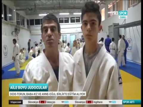 Manisa\'da Aileler Judo İçin Bir araya Geldi Haberimiz TRT SPOR\'DA Yer Aldı