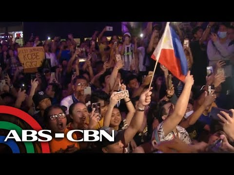 [ABS-CBN]  Pinoy fans ni Kobe Bryant, nagluksa | Bandila