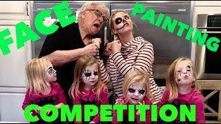 HALLOWEEN FACE PAINTING COMPETITION