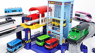 Tayo&Titipo Moving Station! Choo Choo, Running with excitement~    PinkyPopTOY