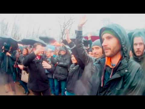 Митинг 26.03 Краснодар. Яркие моменты.  #dimonKRD