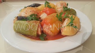 Вкусные фаршированные овощи (Турецкие рецепты)