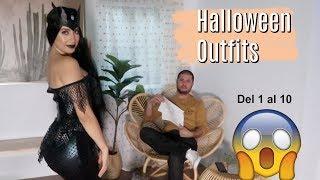 Mi esposo califica mis Disfraces de Halloween 🎃 Fashion Nova