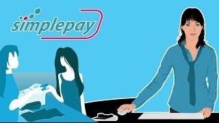 Standbild aus Erklärvideo: Illustration von Frauen beim Bezahlvorgang