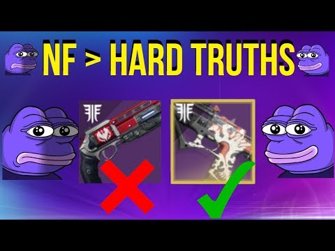 Beating Not Forgotten With HARD TRUTHS! (Worst Gun In Game) Destiny 2
