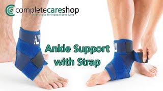 How To Apply The Neo G Ankle Support With Strap