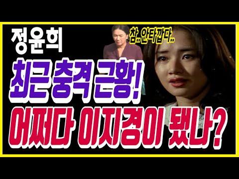 [유튜브] 정윤희 최근 충격 근황! 어쩌다 이지경이 됐나?