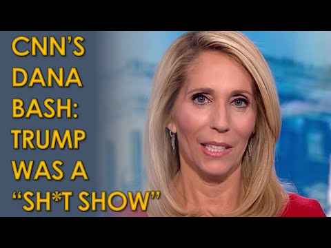 Dana Bash and Jake Tapper on CNN: First debate was Sh*t Show Dumpster Fire