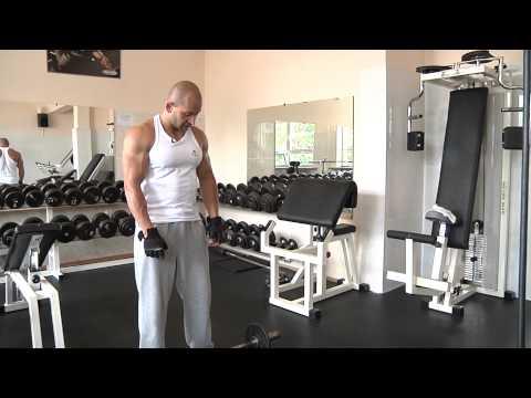 Ćwiczenie dla mięśni piersiowych górnych