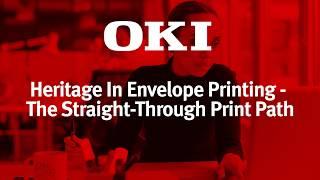 OKI Europe lanza el sistema de impresión de sobres Pro9
