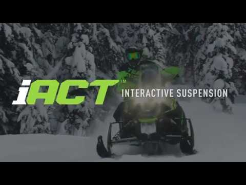 2020 Arctic Cat ZR 8000 Limited iACT ES in Lincoln, Maine - Video 1