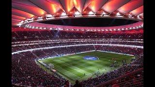 Increíble Himno Del Atlético De Madrid En El Derbi