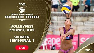Sydney 3-Star 2019 - Women Semifinal 1 - Beach Volleyball World Tour