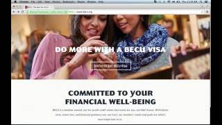 Boeing Employees Credit Union BECU Online Banking Login Instructions