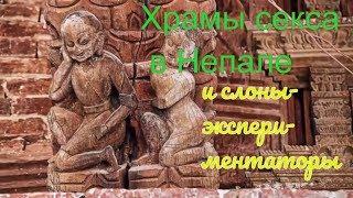 Храмы секса в Непале и слоны-экспериментаторы