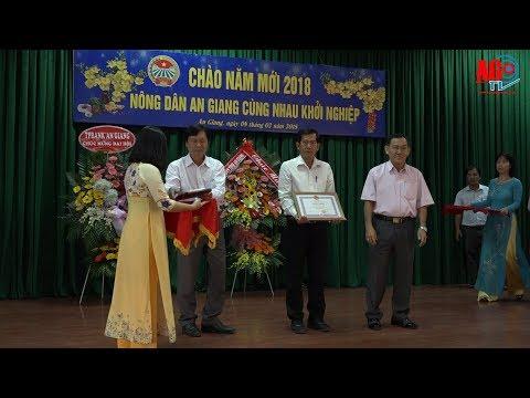 Họp mặt, chúc Tết nông dân giỏi Xuân Mậu Tuất 2018