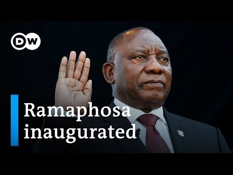 Cyril Ramaphosa sworn in as president of South Africa | DW News