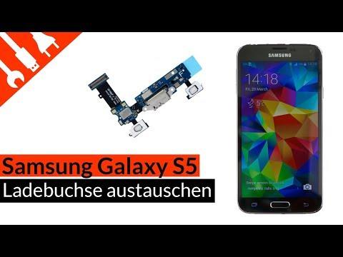 Galaxy S5 Ladebuchse | Mikro | Sensortasten austauschen | Samsung Galaxy S5 Port einfach wechseln