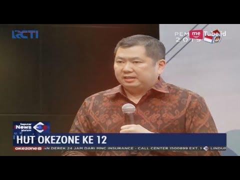 HUT Okezone ke-12, HT: Dorong Kemajuan Industri 4.0 untuk Kemajuan Bangsa - SIM 13/03