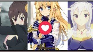 Eris  - (Konosuba: God's Blessing on this Wonderful World!) - Yunyun? Cris? Iris? Quien tiene mas cariño? ║Kono Subarashii Sekai ni Shukufuku o!║