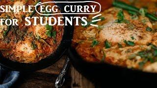 Shakshouka / Simple Egg Curry in Tomato gravy