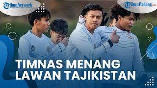 Timnas Indonesia Unggul Dengan Skor 2-1 Melawan Tajikistan pada Laga Uji Coba