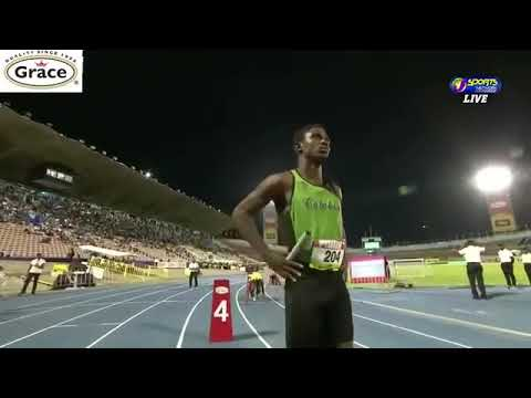 Calabar 2019 Champs 4x100 heats