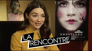 Crystal Reed - Interview GHOSTLAND