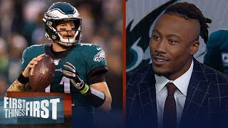Philadelphia Eagles were never going to be a dynasty — Brandon Marshall   NFL   FIRST THINGS FIRST