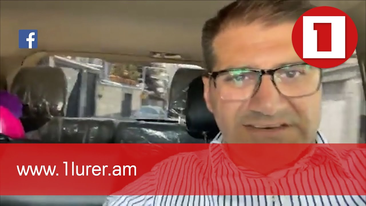 Արման Բաբաջանյանը՝ իր մեքենայի վրա արձակված կրակոցի մասին